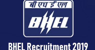 bhel recruitment notification 2019