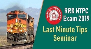 rrb ntpc exam tips
