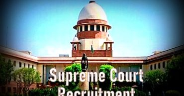 supreme court recruitment