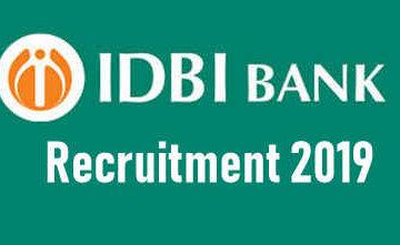 IDBI Assistant Manager Grade A Recruitment 2019