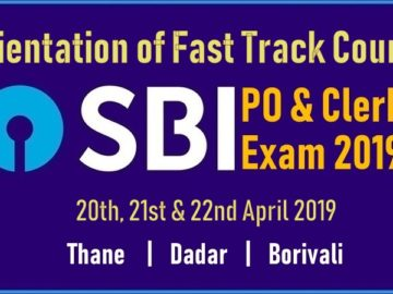 SBI PO & Clerical Exam Fast Track Course Orientation