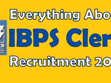 IBPS Clerk 2018 Pre Exam Study Plan
